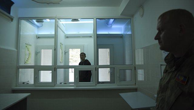 Заключенный в колонии. Архивное фото