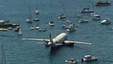 Самолет для дайвинга: в Турции затопили авиалайнер ради туристов
