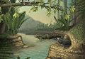 Так художник представил себе теплокровную фауну Китая во время юрского периода