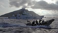 Сотрудники береговой охраны. Архивное фото