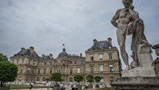 Вид на здание французского сената. Архивное фото