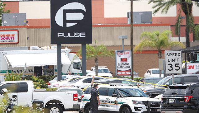 Клуб в Орландо, где произошла стрельба. 12 июня 2016
