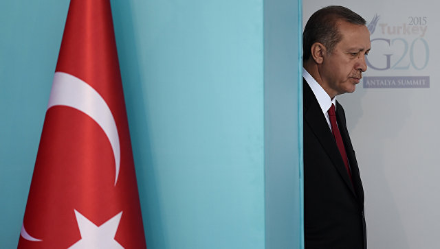 Эрдоган направил письмо Путину