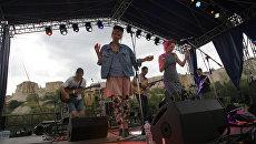 Группа Ministry of Echology (Литва) на фестивале Музыка мира в рамках Платоновского фестиваля искусств в Воронеже