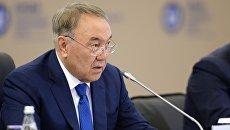 Президент Республики Казахстан Нурсултан Назарбаев. Архивное фото
