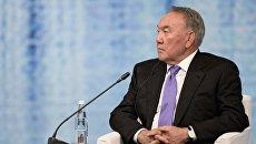 Президент Республики Казахстан Нурсултан Назарбаев на Петербургском экономическом форуме