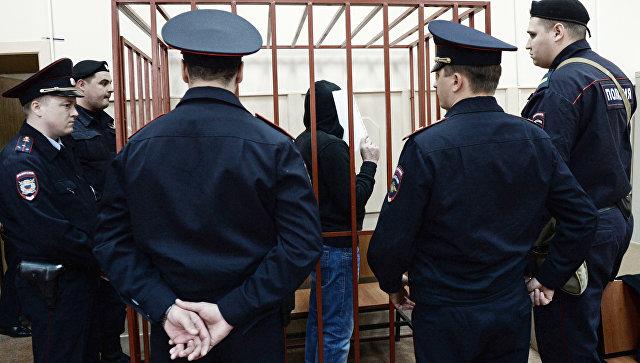 Фигурант дела об убийстве оппозиционного политика Бориса Немцова Хамзат Бахаев в Мосгорсуде. Архивное фото