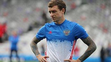 Игрок сборной России по футболу Павел Мамаев. Архивное фото