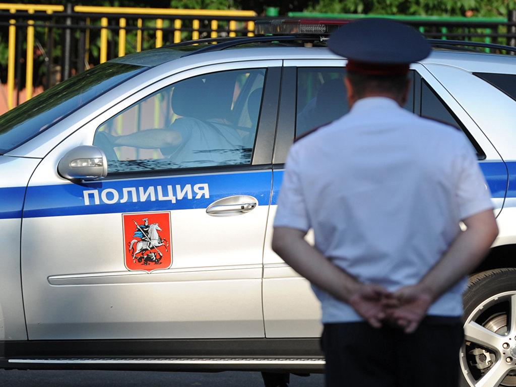 Полицейский автомобиль. Архивное фото