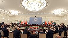 Заседание Совета глав государств-членов Шанхайской организации сотрудничества в расширенном составе в Ташкенте