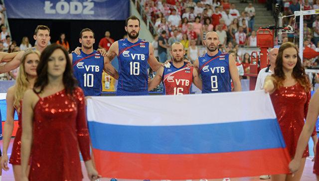 Волейболисты сборной России победили болгар, но не попали в