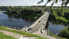 Мост через Волгу, архивное фото