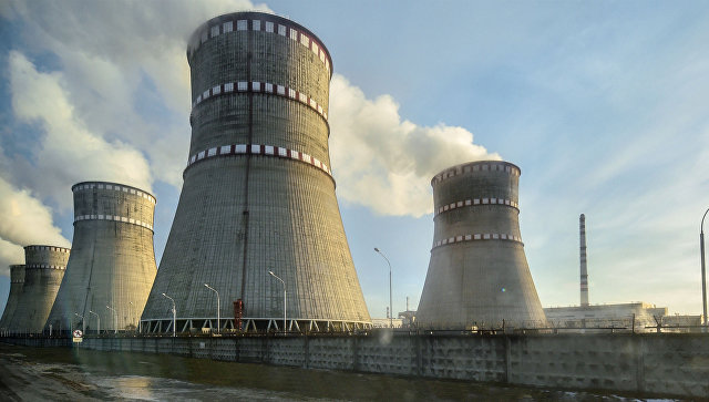 Ровенская атомная электростанция. Архивное фото