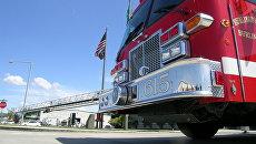 Пожарная машина в США. Архивное фото
