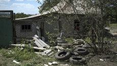 Разрушенные здания в Горловке. Архивное фото