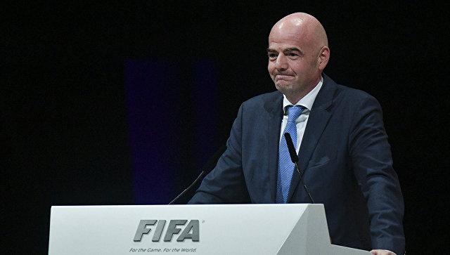Комитет ФИФА снова заподозрил президента Инфантино вкоррупции
