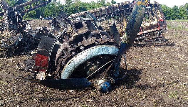 Следствие рассматривает две версии крушения Ан-2 под Саратовом