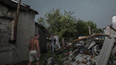 Поселок Спартак в Донецкой области