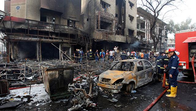 Двойной теракт в Ираке: по меньшей мере 165 человек погибли