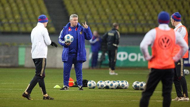 Хиддинк отказался возглавить сборную России по футболу