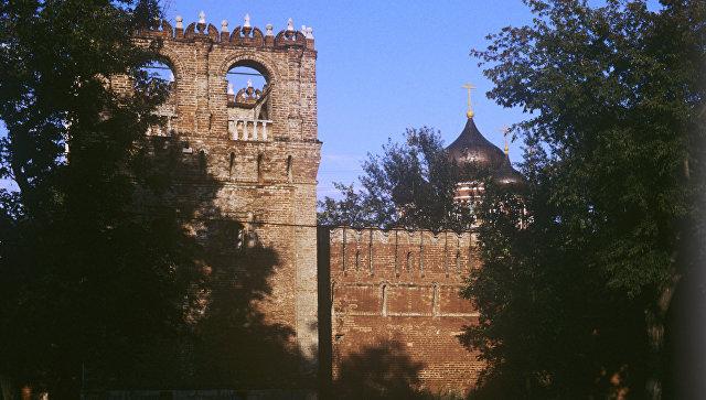 Стены Донского монастыря