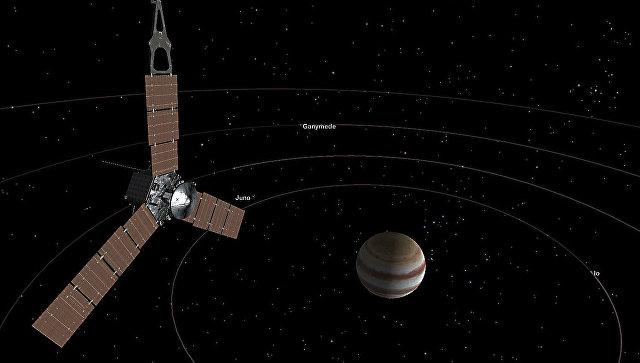 Зонд «Юнона» сказал первую после выхода наорбиту цветную фотокарточку «Юпитера»