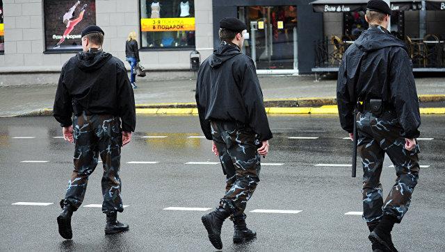 Белорусские полицейские. Архивное фото
