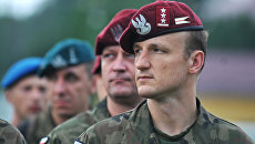 Солдаты вооруженных сил Польши. Архивное фото