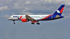 Самолет Boeing 757 авиакомпании Azur Air