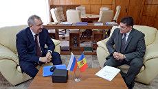 Визит вице-премьера РФ Д. Рогозина в Молдавию