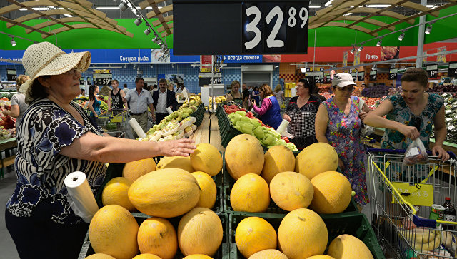 Цены наосновные продовольственные товары всередине лета несколько снизились