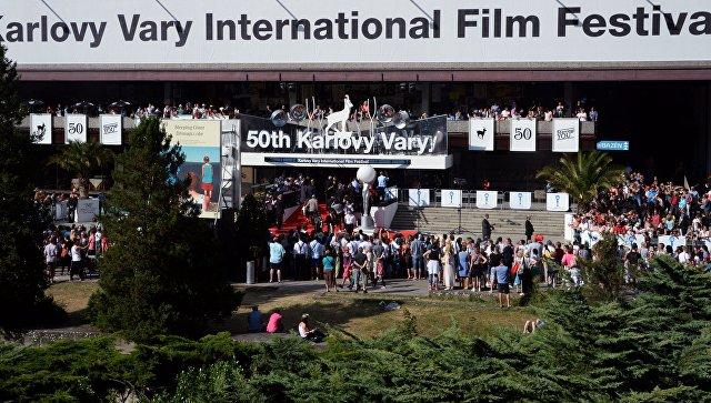 Кинофестиваль в Карловых Варах. Архивное фото