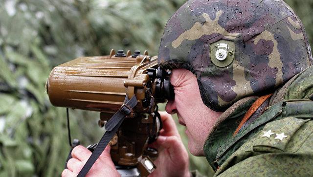 Военнослужащий подразделения внутренних войск МВД России. Архивное фото