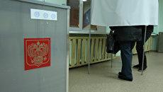 Выборы депутатов Государственной Думы РФ. Архивное фото