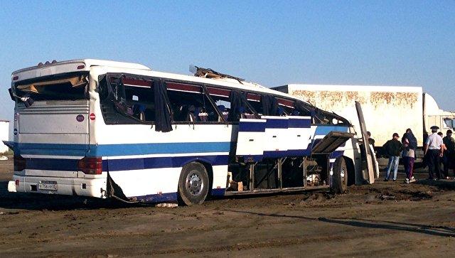 Запострадавшими вДТП детьми вТарумовский район вылетел медицинский вертолет