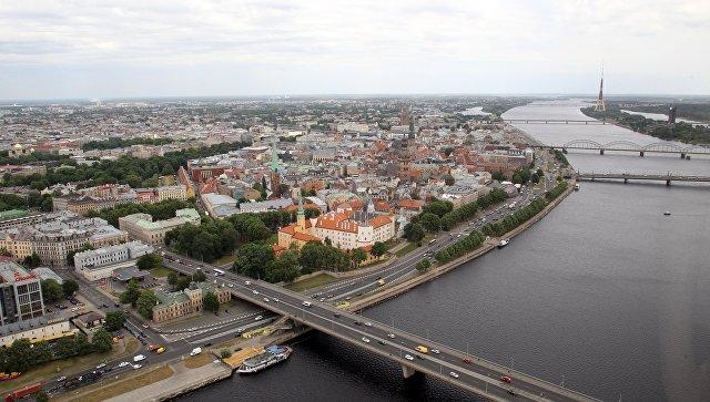 Старый город и Западная Двина в Риге. Архивное фото
