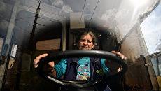Водитель троллейбуса. Архивное фото