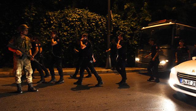 Военные в Турции, 15 июля 2016 года