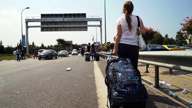 В аэропорту Сабиха Гёкчен в Стамбуле