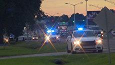 Ситуация на улицах Батон-Руж, где мужчина застрелил троих полицейских