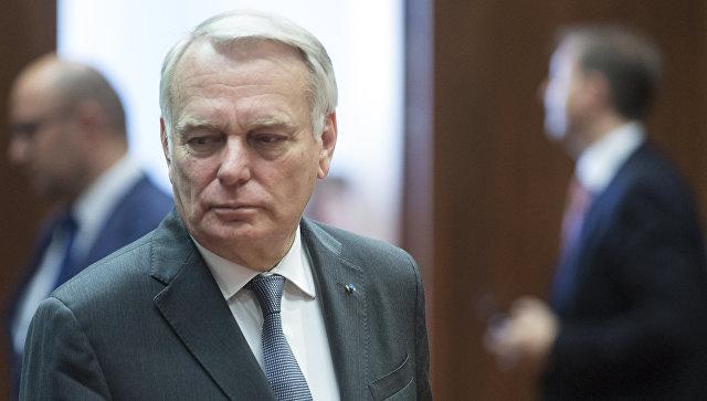 Министр иностранных дел Франции Жан-Марк Эйро. Архивное фото