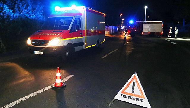 Туристический автобус упал вкювет насевере Германии