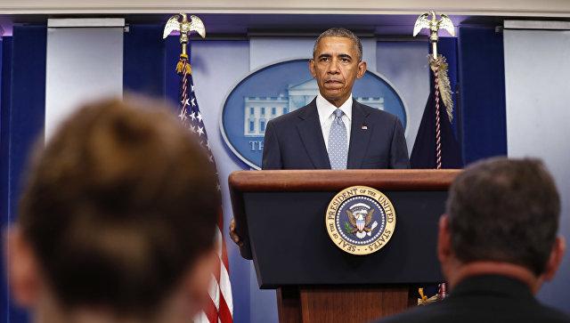 Обама объявил онепричастности США кпопытке перелома вТурции