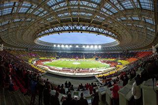 Арена Лужники перед началом матча 35-го тура Чемпионата России по футболу