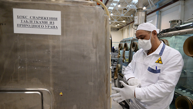 Компания ТВЭЛ подписала договор потопливу для реактора CEFR в Китайская республика