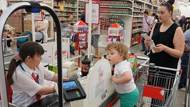 Большинство россиян посещают гипермаркеты лишь по выходным, заявили в ТПП