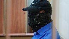 Заместитель начальника управления собственной безопасности Следственного комитета России Александр Ламонов в Лефортовском суде Москвы, где рассматривается ходатайство следствия о его аресте