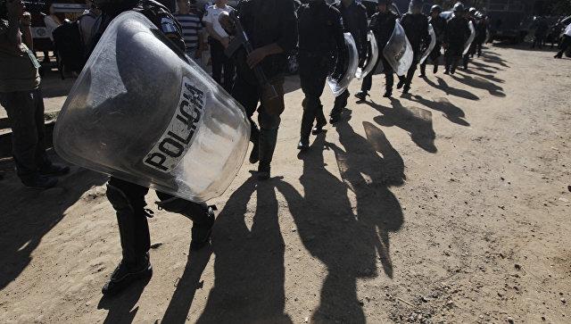 Сотрудники полиции в гватемальской тюрьме Pavon. Архивное фото