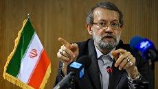 Председатель парламента Ирана Али Лариджани