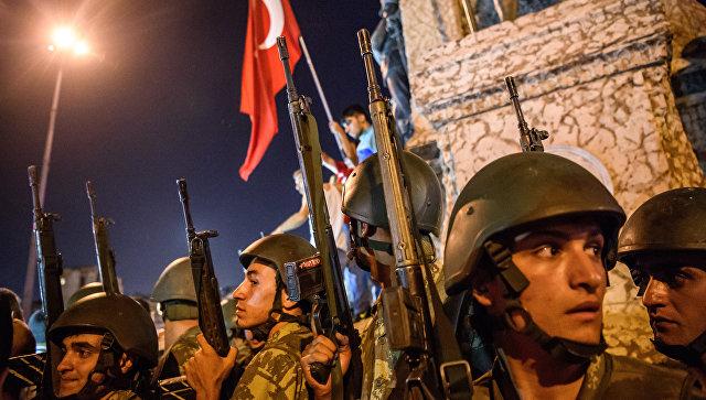 Турецкие военнослужащие. Архивное фото
